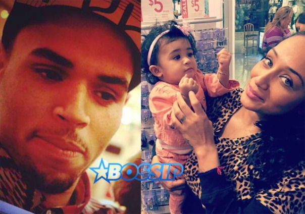 Chris Brown baby mama NIa Guzman daughter Royalty